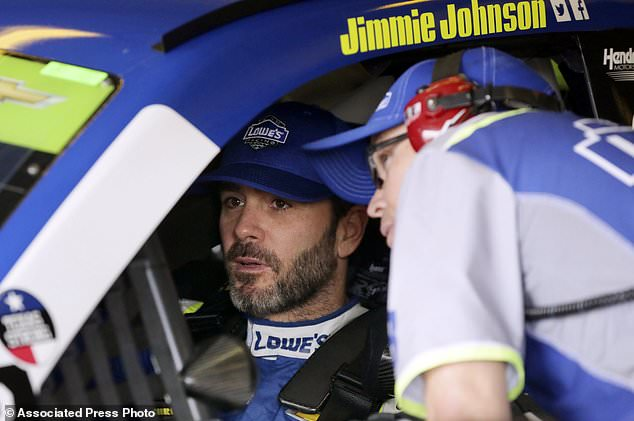 Johnson still 2 options for chance at 8th NASCAR Cup title | Daily Mail Online