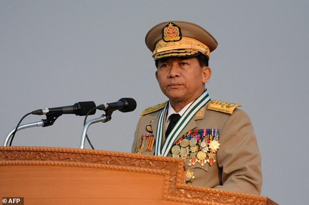 Soldiers under the command of Myanmar army chief Min Aung Hlaing are accused of commiting widespread atrocities against the Rohingya