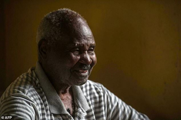 Johannes Chikanya, a 93-year-old Zimbabwean, grew up with Mugabe in Kutama
