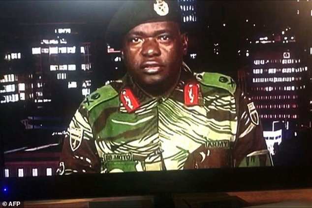 Sibusiso Moyo, the general who announced the military's coup on state television, has been named foreign minister