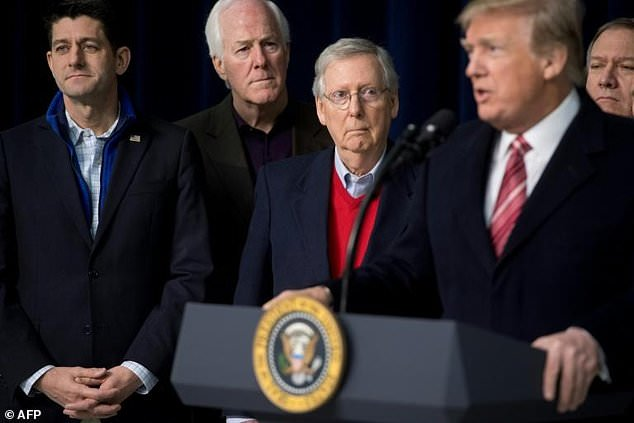 US President Donald Trump and congressional Republicans have been negotiating with Democrats for weeks over an elusive deal on 2018 federal spending