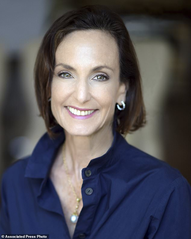 This undated photo provided by Gina Conte, shows Rebecca Riskin. Riskin, the founder of Riskin Partners, was among those killed in this week's deadly Montecito, Calif., mudslides. Her company confirmed her death in a statement posted Wednesday night, Jan. 10, 2018, on Facebook. (Gina Conte via AP)