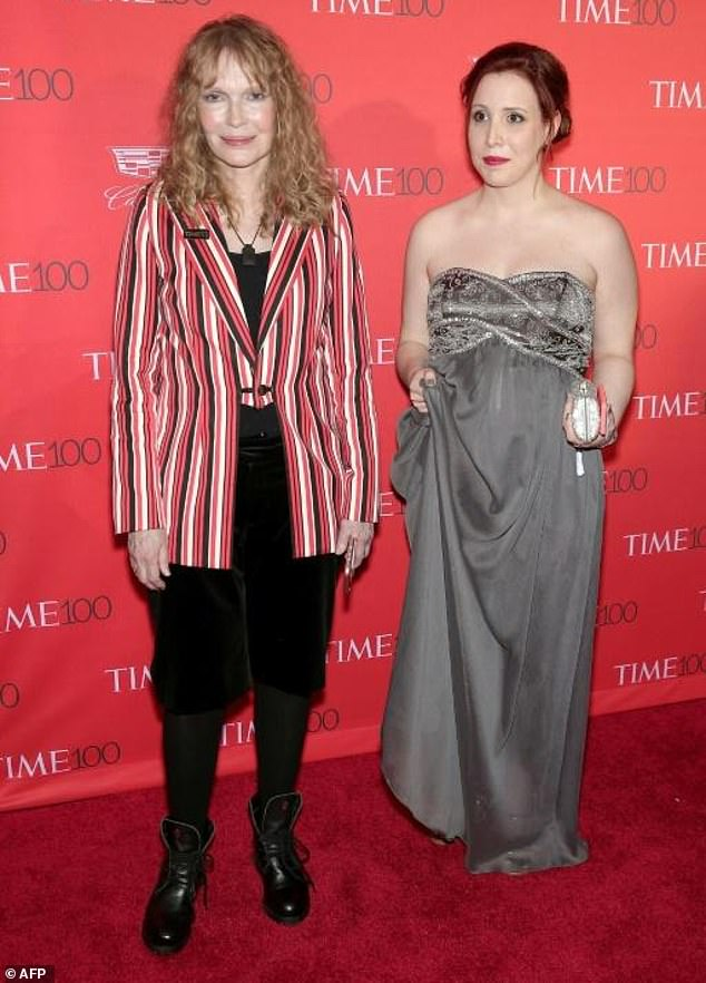 Dylan Farrow's (right) claim first surfaced in 1992 in the midst of Allen's split from her mother Mia Farrow (left)
