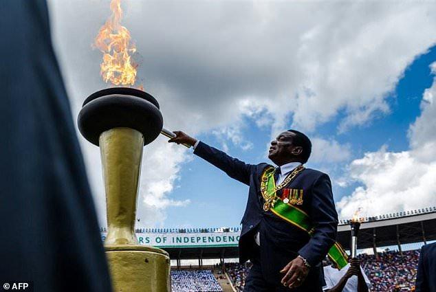 "President Emmerson Mnangagwa vowed to hold ""credible"" elections and turn around Zimbabwe's moribund economy"