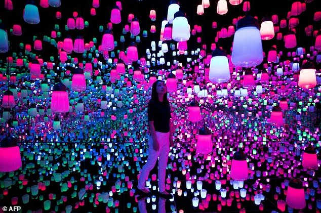 Tokyo Digital Art Museum Looks To Expand The Beautiful Daily Mail Online