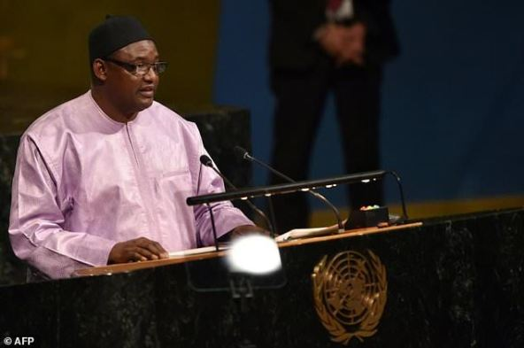 Adama Barrow took over as president of Gambia after longtime leader Yahya Jammeh went into exile amid the threat of a regional military intervention having lost a 2016 presidential election