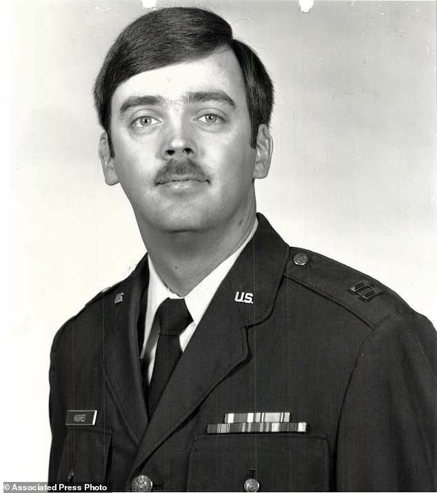 This undated photo released by the U.S. Air Force shows Capt. William Howard Hughes, Jr., who was formally declared a deserter by the Air Force Dec. 9, 1983. He was apprehended June 6, 2018