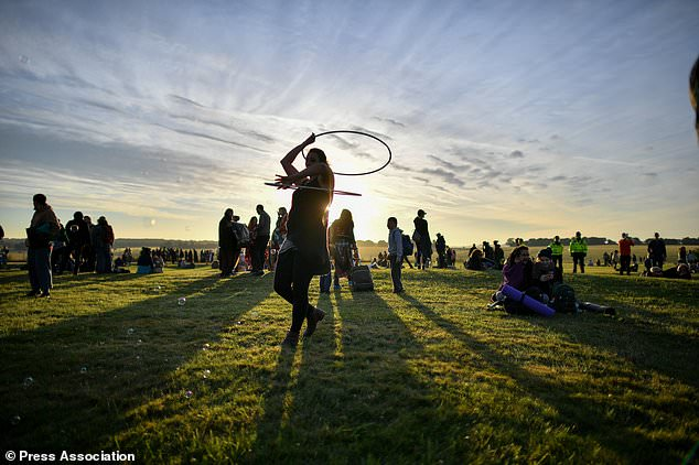 Summer Solstice Crowds Gather At Stonehenge