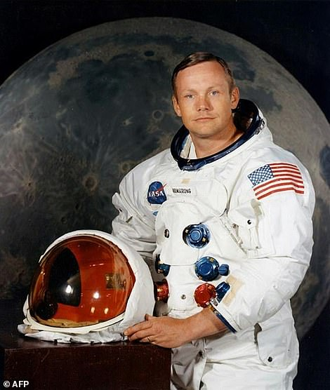 Neil Armstrong, pictured in an undated NASA handout photo, became the first man to set foot on the moon