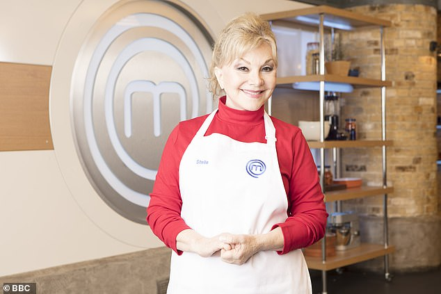 Stella on the set of Celebrity Masterchef. She says one of her secret ambitions is to have her own cooking show