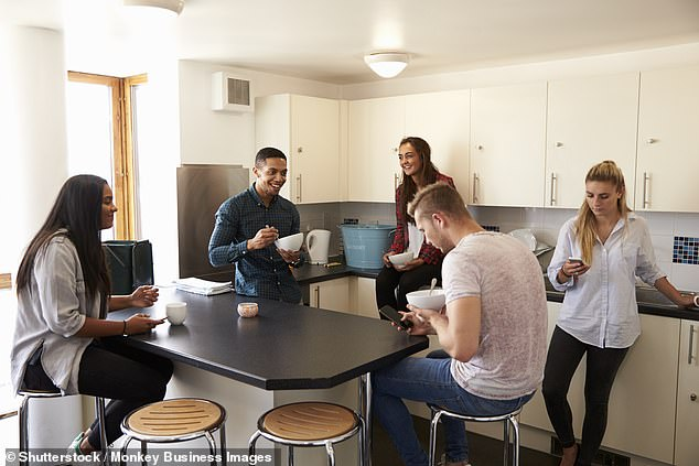 HMOs can be typical student houses and properties let to young professionals in city centres