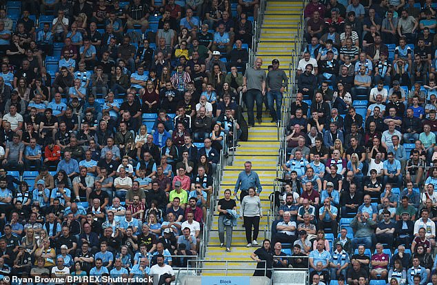 Manchester City were found to have added an average of 7,482 to their attendance figures