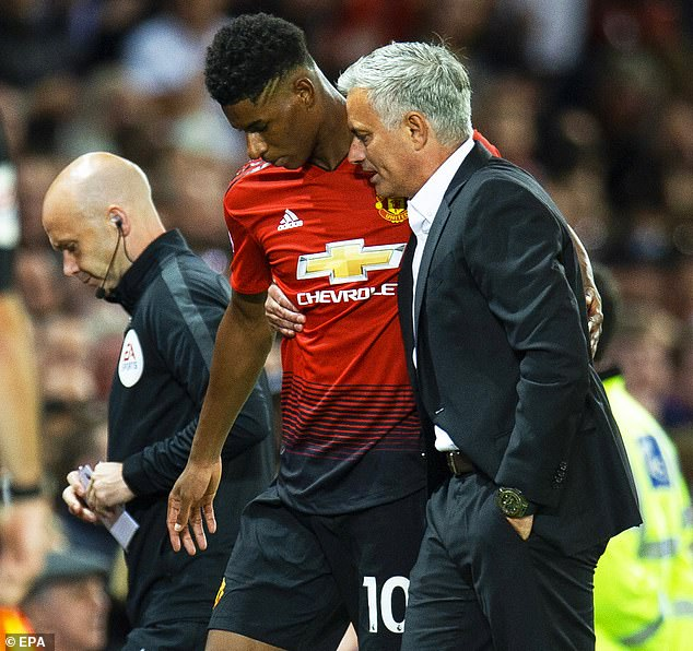 Manchester United boss Jose Mourinho has fiercely defended treatment of Marcus Rashford