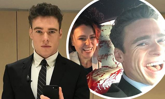 Bodyguard: Richard Madden shares fun behind-the-scenes ...