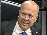 Private train companies, Network Rail and Chris Grayling's (file) Department for Transport will all be slammed when the report is published, unions suggested tonight.