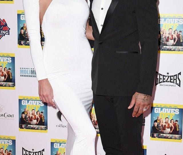 Defiant Jermaine Pennant Put On A United Display With Wife Alice Goodwin At The Gloves