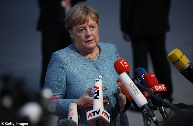 German Chancellor Angela Merkel said she hoped Brexit would take place with 'respect' on both sides