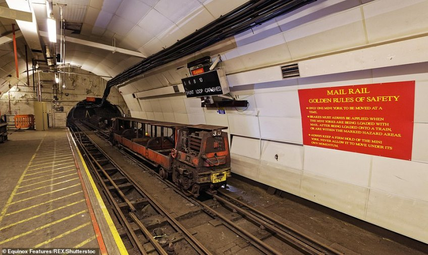 For more than three quarters of a century the Post Office Underground Railway, or 'Mail Rail', ran under the streets of London. It has lain dormant for over a decade, though a handful of engineers maintain it