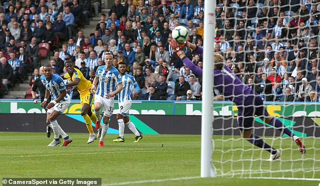 Zaha scored a brilliant solo goal as Palace beat Huddersfield 1-0 in the Premier League