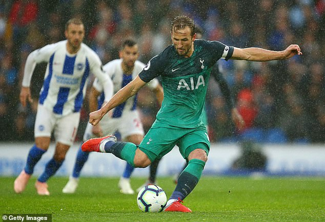 Harry Kane's goal saw him move up to joint fifth in the all-time goalscoring list for Spurs