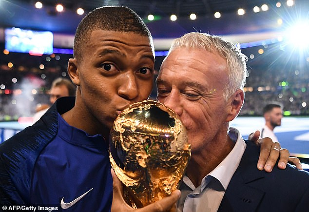 Didier Deschamps' France won the 2018 World Cup, but must remain focused for Qatar in 2022
