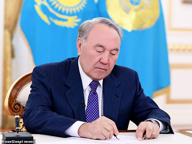 Kazakhstan president Nursultan Nazarbayev, whose government introduced a new law on chemical castration at the start of this year