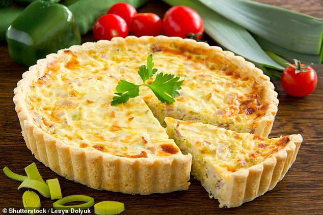 Quiche is very rarely seen on the menu at high-end restaurants and is in danger of becoming extinct according to research by OpenTable which found several endangered dishes that no longer appeared on menus