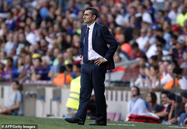 Barcelona boss Ernesto Valverde threw everything at Bilbao, and it eventually paid off for him