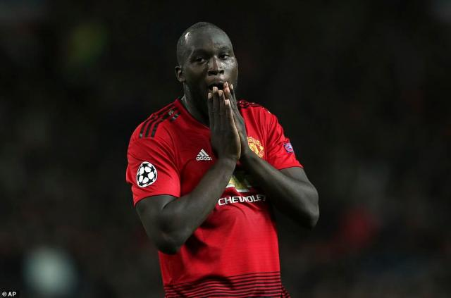 Romelu Lukaku was another player left counting missed opportunities as Valencia held United to a draw at Old Trafford