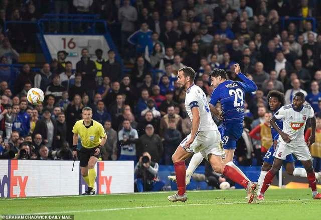 Alvaro Morata finally broke the deadlock on a frustrating night for Chelsea against Vidi in the Europa League on Thursday