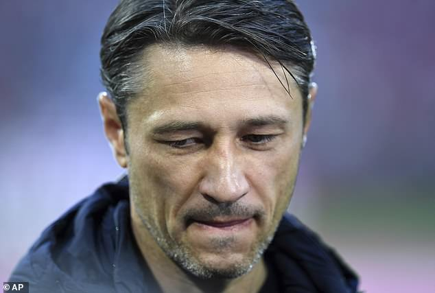 The 3-0 home defeat on Saturday piled the pressure on Bayern manager Niko Kovac