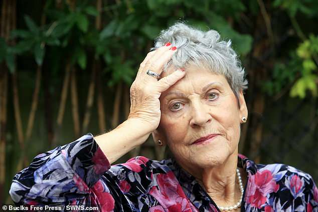 Elspeth Gibson, 78, said she felt 'humiliated' when she was refused a beauty treatment at a nail bar in Bourne End,Buckinghamshire