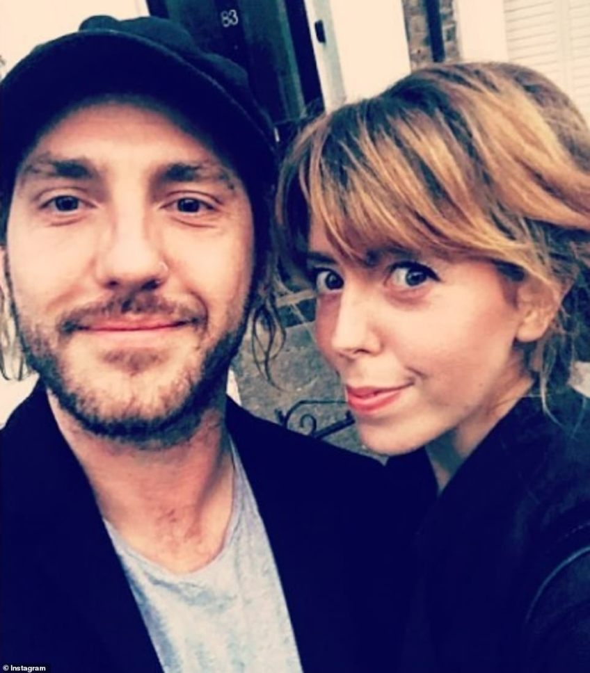 A year ago: The couple were pictured on her birthday on October 3, 2017 - however this year he spent the day with Katya
