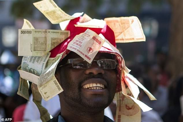Zimbabweans who have seen its currency became worthless fear hyperinflation can happen again