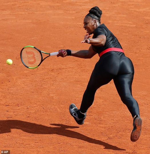 French Open bans Serena Williams' black catsuit | Daily ...