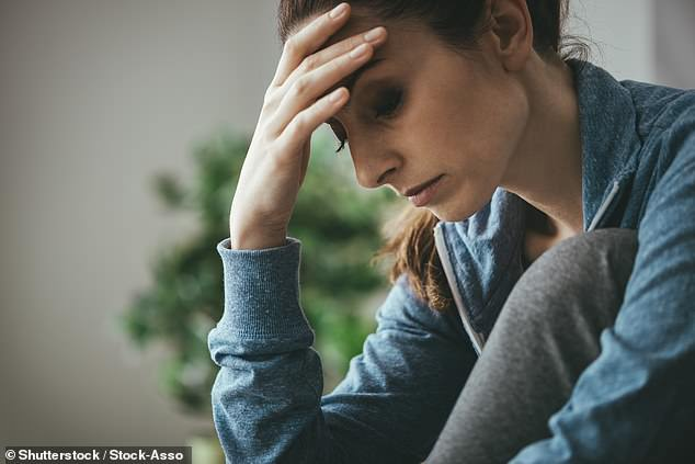 The DNA of depressed patients is eight months older than healthy people's (stock)
