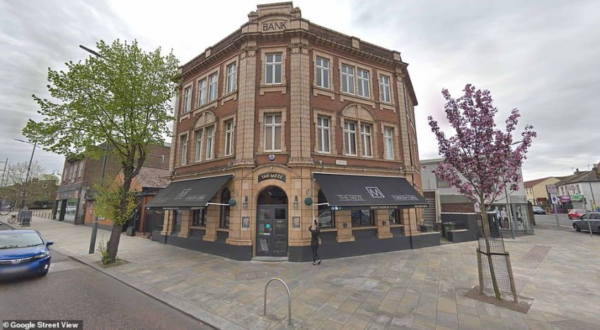 Where it all began: MailOnline has contacted the manager at The Meze restaurant in Bexleyheath, (pictured) for more information