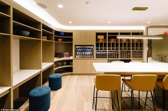 The current theme of the wine room is 'Chardonnays of the world' - but there are also a whole host of other wines to sample