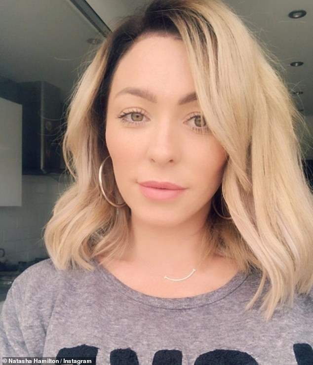 Furious: Atomic Kitten's Natasha Hamilton took to Twitter on Wednesday to reveal she feels violated after a 'vile man rubbed his manhood against her on a packed train'