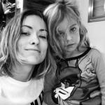Olivia Wilde share throwback bump photo