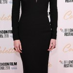 Eleanor Tomlinson stuns in black at movie 'Colette' premiere in London