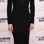 Eleanor Tomlinson stuns in black at movie 'Colette' premiere in London