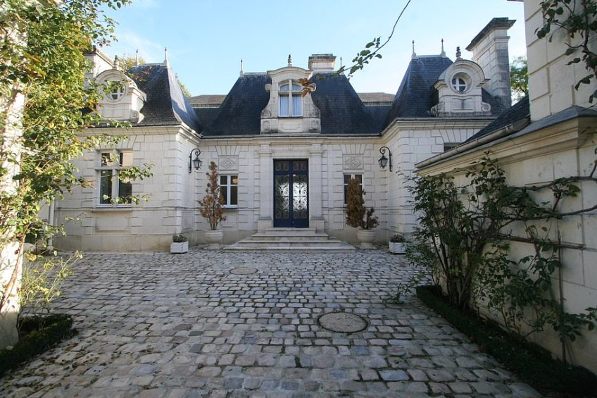 This amazing property is billed as being in the style of Louis Philippe, the 19th-century King of France