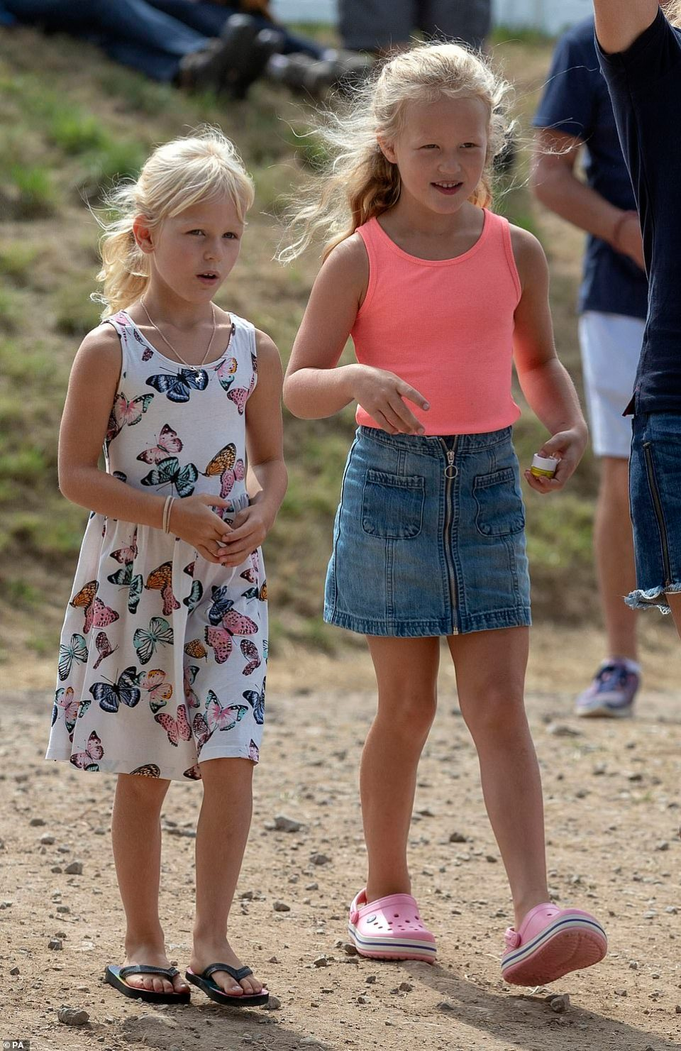 Savannah and Isla Phillipsare the daughters of Peter Phillips, Princess Anne's eldest and only son, and his wife Autumn