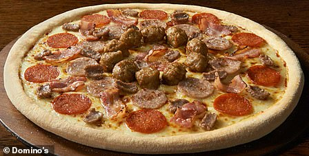 Domino's Meateor Double Decadence Large