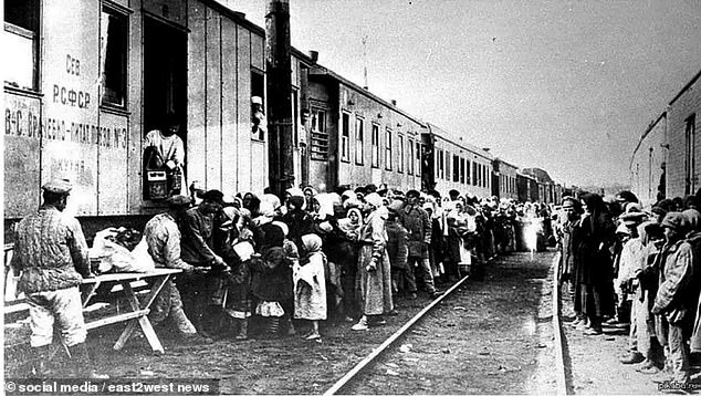 'Carriages were stuffed with people - dirt, rubbish, excrement was everywhere,' she said