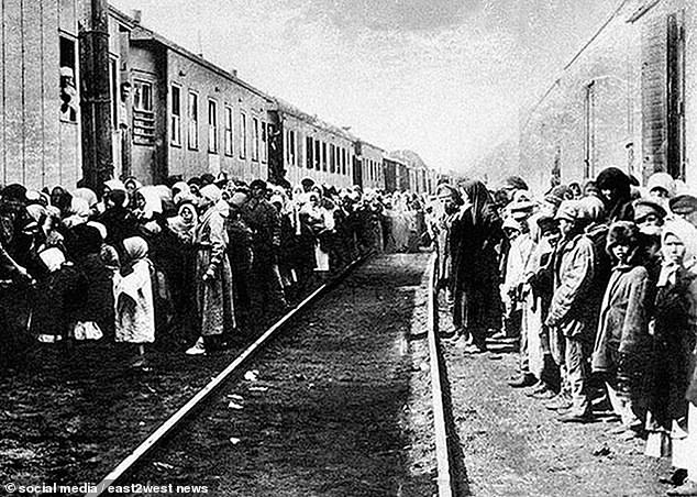Deportation of Chechen nation in 1944. Koku explained the deplorable conditions on the trains