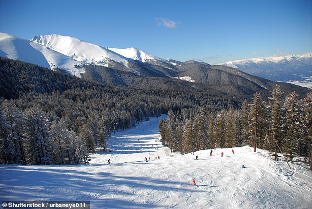 Life on the edge: Bansko in Bulgaria (above) has terrain for all abilities