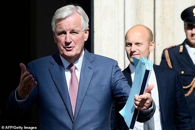 Plus tôt cette semaine, Michel Barnier a critiqué ce que le Royaume-Uni a proposé à Bruxelles - mais une contre-offre est en préparation, pense-t-on.