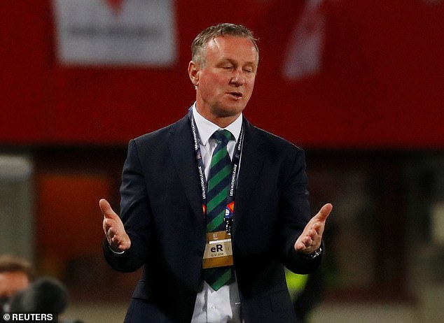 Michael O'Neill says he won't have 'sleepless nights' if his side get relegated in Nations League